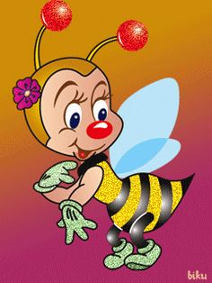 Buzz Bee, Button Nose, Sweet Magnolia, Illustrations, Animated Gif, Tigger, Disney Characters, Fictional Characters, Delicate