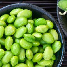 Spicy Lemon Edamame!  Great yummy healthy snack!
