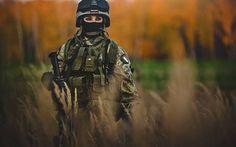 01.女性兵士を浅い被写界深度で撮影した美しい写真壁紙画像