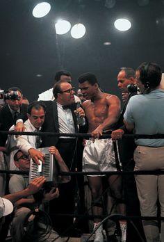 Ali post-fight