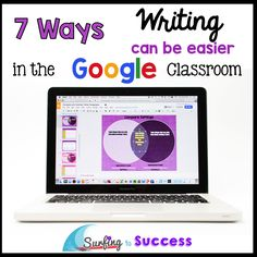 Teaching writing is so much easier using Google. Here are seven of my favorite ways that using Google Docs or Google Slides helps with writing instruction.