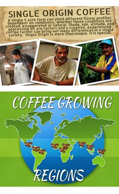 4 surprising facts about Single Origin Coffee.   http://www.rogersfamilyco.com/index.php/4-surprising-facts-single-origin-coffee/  #singleorigincoffee #coffee