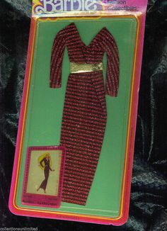 Barbie Fashion Collectibles #1904, 1978.