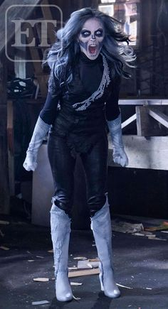 First look at Italia Ricci as Silver Banshee in #Supergirl