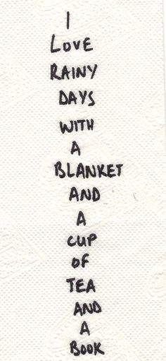 Sounds like the perfect day.
