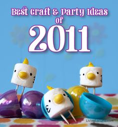 Best Craft and Party ideas from the year. I love looking back through each month!