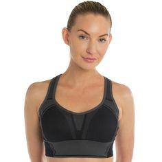 a8cdfc72227fb Yvette Sports.com Yvette Logo Print Quick Dry Sports Bra   7061-Breathable Wirefree Sports Bra