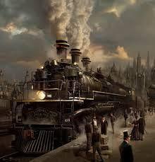 Bildergebnis für steampunk railway
