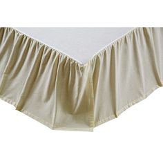 his 100% cotton #bedskirt is made from a solid #creme chambray fabric coordinates with a variety of styles.  https://www.uptowncasual.com/products/solid-chambray-creme-queen-bed-skirt #uptownquiltedbedding
