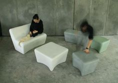 Lightweight outdoor furniture design by Cici Chen and Lui Honfay