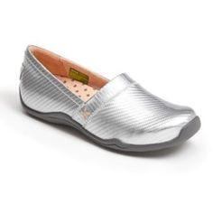 compare Ahnu 'Jackie' Patent Flat Silver 8.5 M Sale Good best Shop Halloween 2013