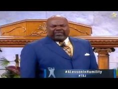 Bishop TD Jakes, A Lesson In Humility