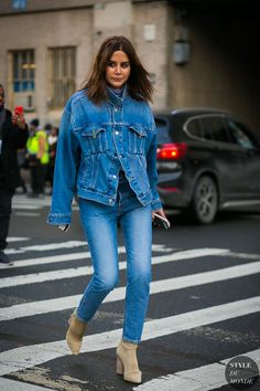 New York Fashion Week Fall 2017 Street Style: Christine Centenera | STYLE DU MONDE | Bloglovin'