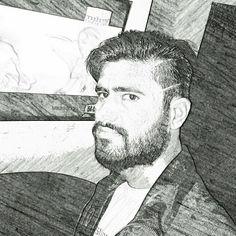 Sketch beard
