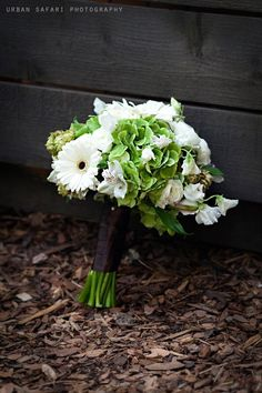 Hops bouquet. I love the idea of using hops in rustic wedding decor.
