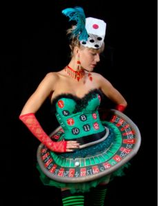 inspired dress - perfect for a Casino Dress-up. Find this Pin and more on Las Vegas costumes ...  sc 1 st  Pinterest & 12 best Las Vegas costumes images on Pinterest | Costume ideas ...