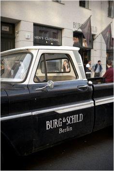 The beloved Burg&Schild Chevy