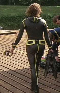 Diving Suit, Scuba Diving, Scuba Wetsuit, Scuba Girl, Womens Wetsuit, Swimsuits, Swimwear, Snorkeling, Retro Vintage