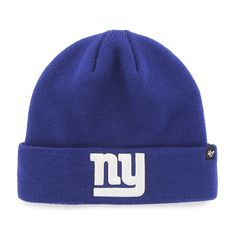 804288ff396 New York Giants Recluse Cuff Knit Royal 47 Brand Hat