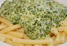 Spinat - Frischkäse - Soße, ein tolles Rezept aus der Kategorie Vegetarisch. Bewertungen: 92. Durchschnitt: Ø 4,3.