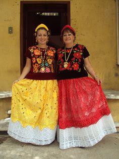 Mujeres bonitas - Tehuantepec Oaxaca Mexico