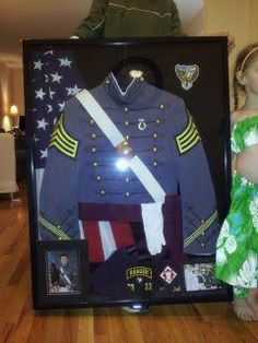 Shadow box of all things West Point