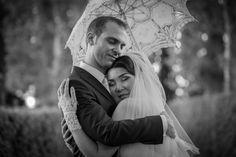 Luca & Zhazira Hexagon Group Wedding Photo