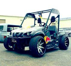 Lowered Golf Cart