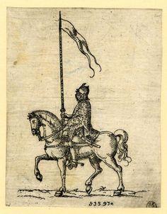 Hungarian heavy rider 1591-1593.