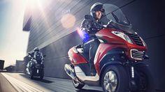Peugeot Metropolis scooters