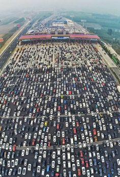 With millions of Chinese motorists taking to the road at the end of the country's week-long National Day celebration, a few traffic headaches were probably to be expected. But the gridlock that clogged the main highway into Beijing, the 50-lane-wide G4 Beijing-Hong Kong-Macau Expressway, on Oct. 6 was truly something else.