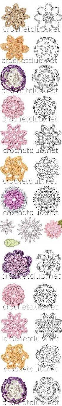 Kwiatki ręcznie robione na szydełku | Pinkpong.pl