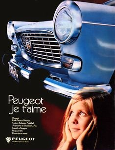 Vintage Advertisements, Vintage Ads, Peugeot 404, Cabriolet, All Cars, Volvo, Cars And Motorcycles, Super Cars, Mercedes Benz
