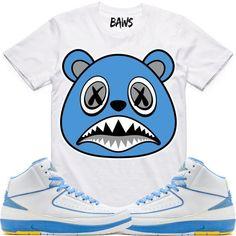 158cc857724e1e UNC BAWS Sneaker Tees Shirt - Jordan 2 Melo