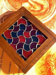 Glorious Twelfth: How To Make An Authentic, Realistic Looking Dollhouse Miniature Stained Glass Window
