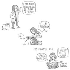 Dog mom Gemma Gené illustrates her inseparable relationship with her adorable pet pug, Mochi. The daily webcomic depicts hilarious day-to-day scenarios that many dog owners can relate to. Pug Love, I Love Dogs, Mochi, Pug Cartoon, Pet Pug, Black Pug Puppies, Pug Art, Online Comics, Lady And The Tramp