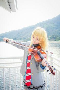 Kaori es realmente hermosa en cosplay