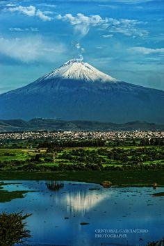 Popocatepetl volcano - Mexico