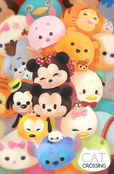Tsumtsum Fan Art Print by CatCrossingArt on Etsy