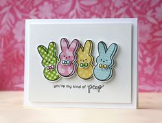 Simon Says Stamp March Card Kit - My Kind of Peeps (Laura Bassen)