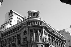 Old Standard Bank building in the city