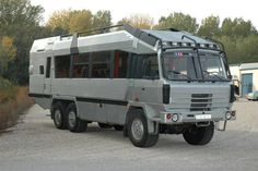 Impressive Off-Road Vehicle Designs Motorcycle Camping, Camping Gear, Surf Bus, Mercedes Benz Unimog, Rv Truck, Adventure Campers, Bug Out Vehicle, Off Road Camper, Expedition Vehicle