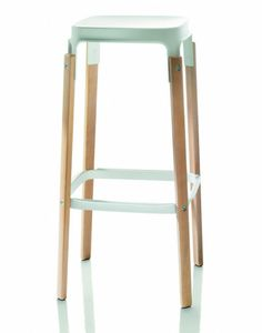 Steelwood Stool by Magis - this needs to come live with me.