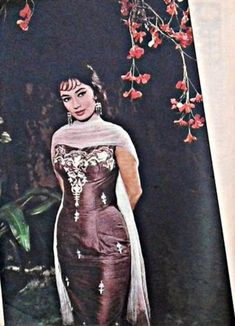 Sadhana Actress, Indian Fashion, Retro Fashion, Bollywood Outfits, Vintage Bollywood, Indian Film Actress, Bollywood Stars, Islamic Art, Bodycon Dress