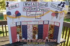 Family Ever After....: LDS Singing Time: Primary Program Review Idea