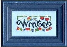 Lizzie and Kate Winter Crazy Counted Cross Stitch Pattern Charted Design Needlework Chart Pack Snow Day Ski Bum Brrrr Rare Out Of Print