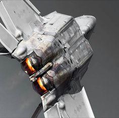 Military Jets, Military Aircraft, Luftwaffe, Air Machine, F22 Raptor, Military Pictures, Aircraft Design, Top Gun, Train Car