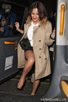 14417290bd0a87 Caroline Flack at the Groucho Club in London, England - May 3, 2012 Caroline