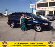Congratulations to Elizabeth Vazquez on your #Dodge #Caravan purchase from Gary  Tedder at Auto Center of Texas! #NewCar
