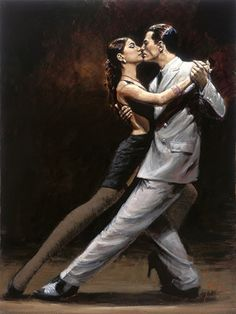 Tango. That'll be me on the left.. Slick...